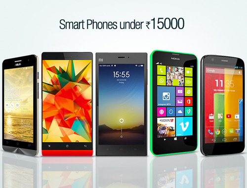 5 Best budget smartphones under Rs. 15,000 in India