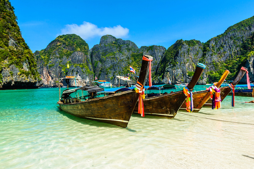 "Come and enjoy the experience of a lifetime, sleeping in Maya Bay that was made famous by the film ""The Beach"" featuring Leonardo Di Caprio which was filmed there in 2000....... For those who don't wish to spend the night on the boat we now are offering a Plankton/Sunset tour that will allow you to enjoy Maya Bay without the crowds...... Read more > Maya Bay Sleep Aboard Trip Plankton Tour Krabi, Ao Nang, Phi Phi Tours See the best of the islands and activities around Phi Phi, Aonang and Krabi on one of our all inclusive packaged tours...... Read more >Read more > Maya Bay Sleep Aboard The only way to see Maya Bay without the crowds. Connect with your fellow travellers 5/6 ​Maya Bay is a stunningly beautiful beach that's sheltered by 100-meter high cliffs on three sides.​ Situated on the island Phi Phi Ley, this bay was made famous by the movie 'The Beach' featuring Leonardo Di Caprio, which was filmed there in 2000. Come and join us on either our Plankton Sunset Cruise or our overnight Sleep Aboard tour and you will get to see Maya Bay at its best without the hordes of day trippers."