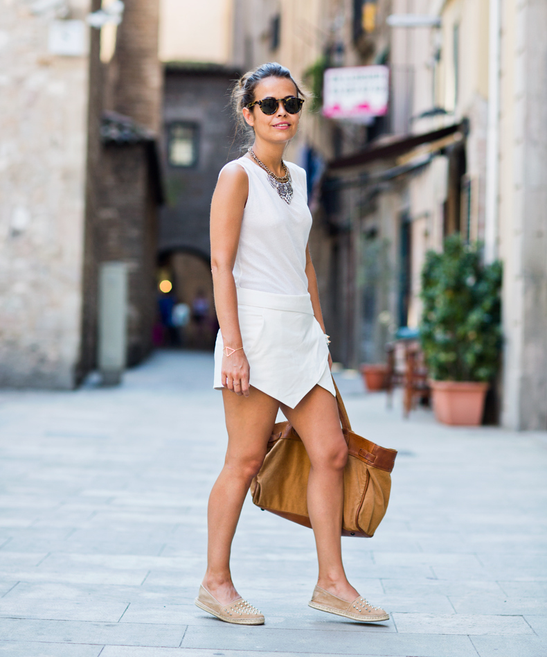 If you have chosen everything but still think over summer shoes you can consider espadrilles as a perfect type of comfy shoes for summer. If you can't imagine yourself wearing flat shoes you can choose espadrilles on wedges that are comfortable and elegan