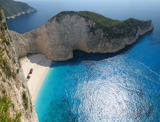 Navagio Beach book flight now