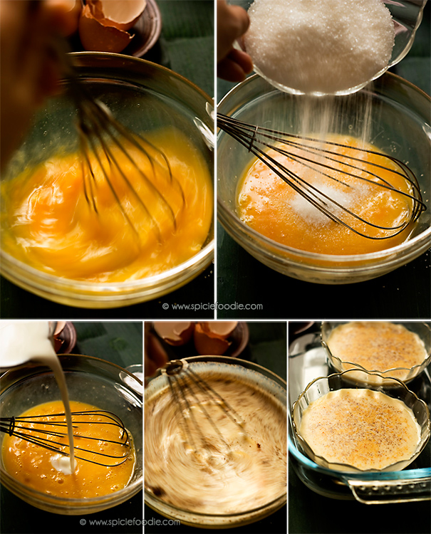 Custard is a variety of culinary preparations based on a cooked mixture of milk or cream and egg yolk. Depending on how much egg or thickener is used, custard may vary in consistency from a thin pouring sauce (crème anglaise) to a thick pastry cream