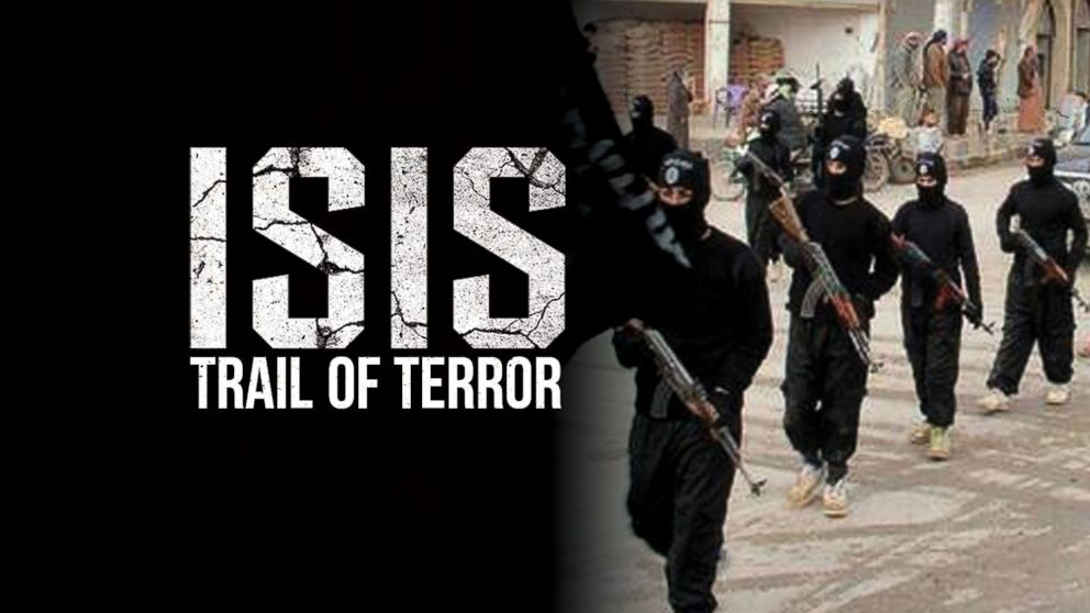 ISIS trail of terror