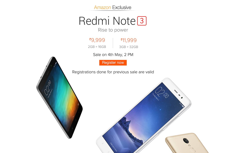 RedmiNote3_amazon_04May_sale
