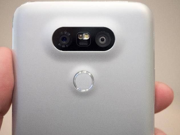LG G5 fingerprint scanner