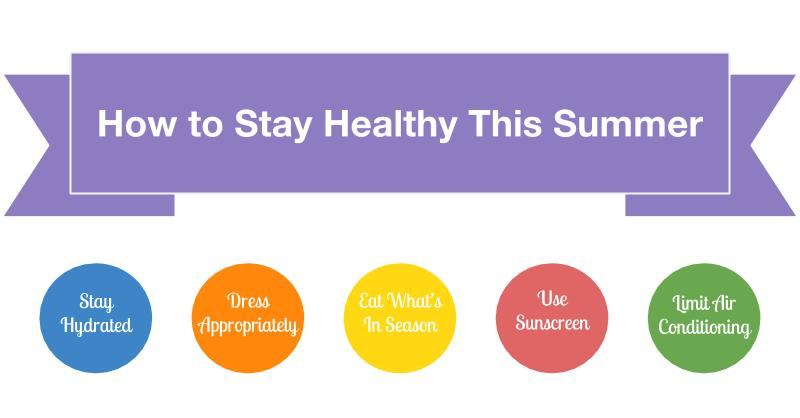 How to Stay Healthy This Summer