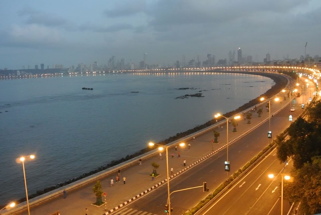 Marine Drive, Mumbai- The Queen's Necklace