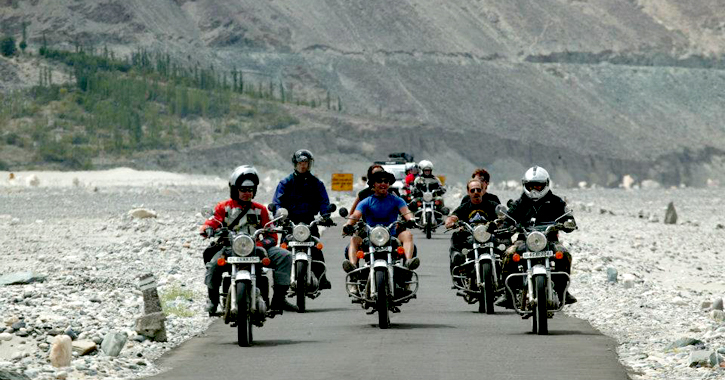 Thrills of a Bike Trip to Ladakh, The Cold Desert