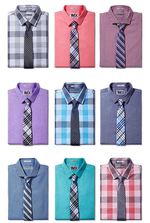 Shirt types for Men