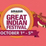 Amazon Great Indian Sale 1st-5th October, 2016