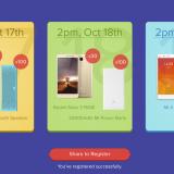 *Script* for Mi Re 1 Flash Sale Tricks : Buy Redmi 3s Prime, Redmi Note 3 & MI 4 Mobiles @ Rs 1 (17-19th Oct)