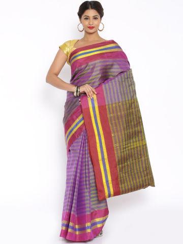 pothys-yellow-striped-arani-silk-traditional-saree