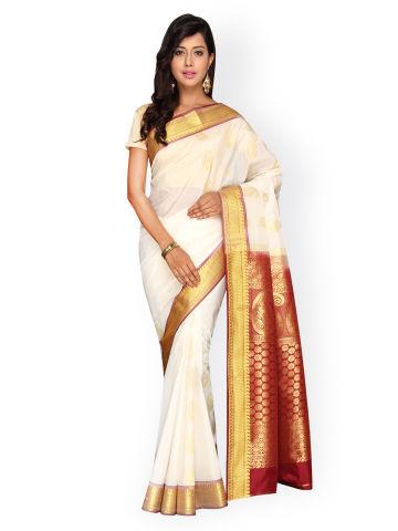 pavechas-white-kanjeevaram-art-silk-traditional-saree