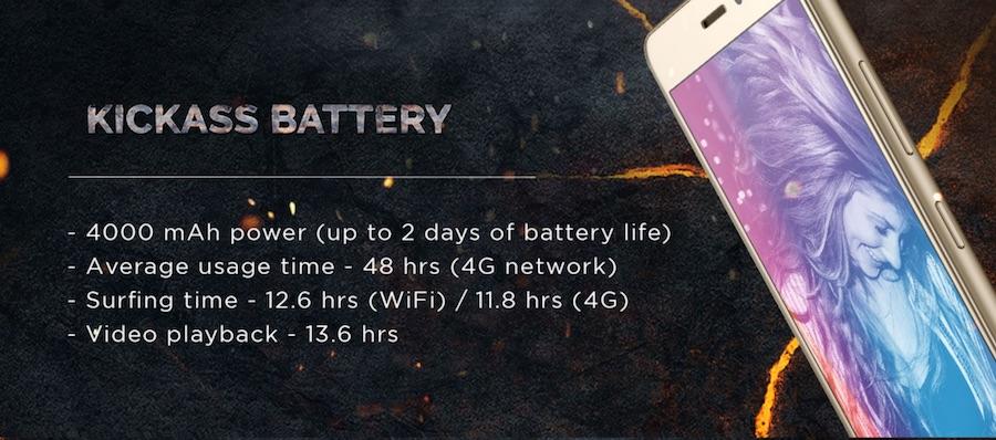 Lenovo K6 Power Bettery Details