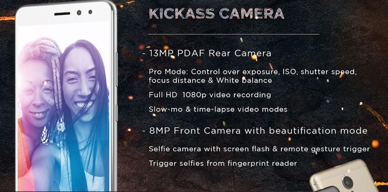 Lenovo K6 Power Camera Specifications
