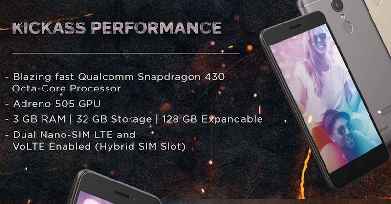 Lenovo K6 Power Performance Details