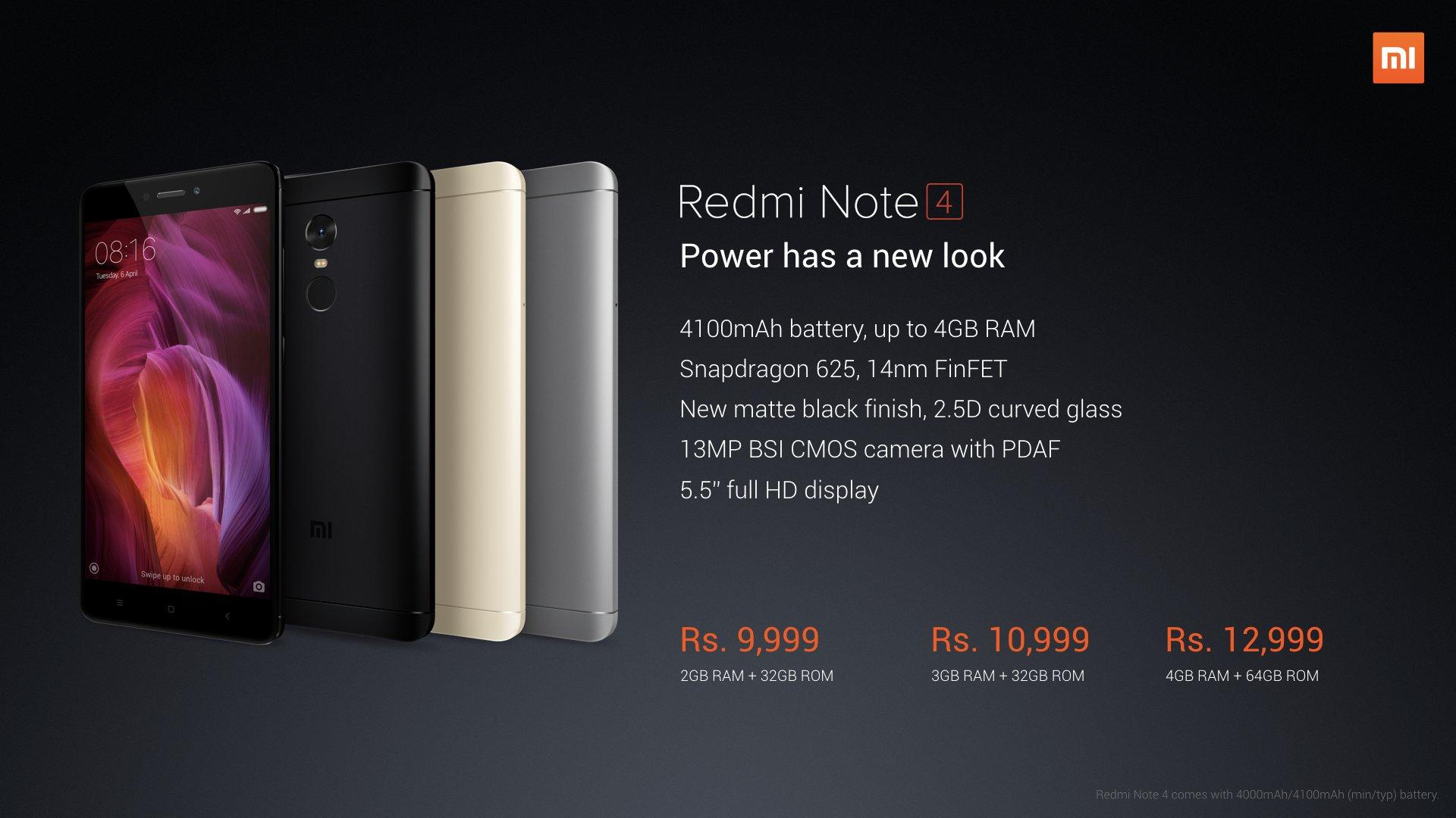 Redmi Note 4 best offer at Flipkart