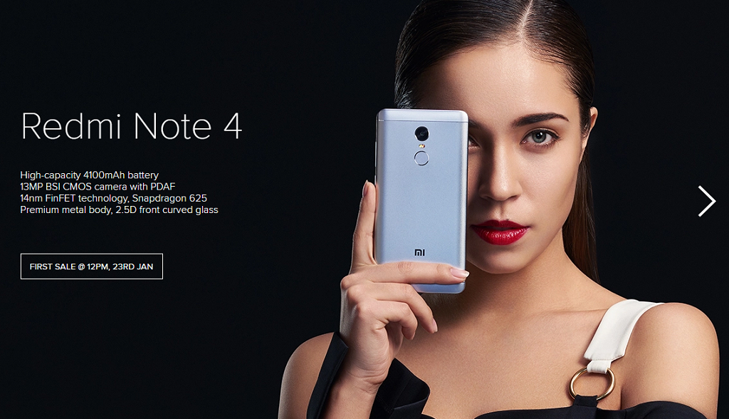 Redmi Note 4 offer price at flipkart