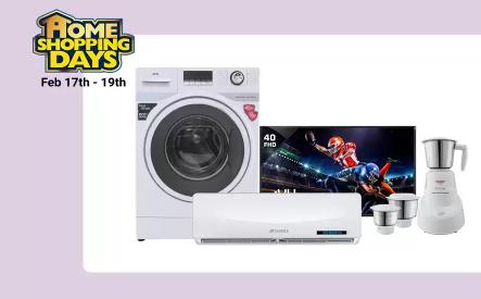 Flipkart Home Shopping Days - TVs & Appliances