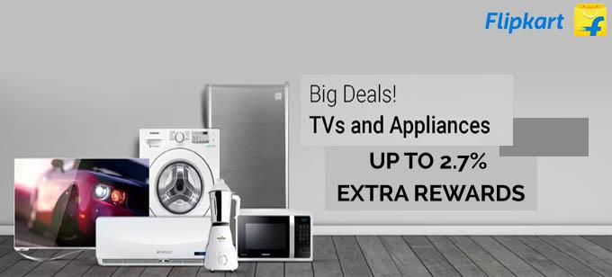 Flipkart Appliances Store : Huge discount