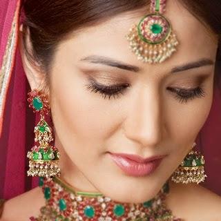 Bride with Makeup