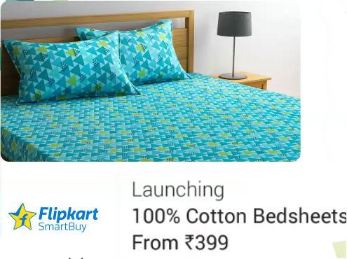 Flipkart Smart Buy Cotton Bed