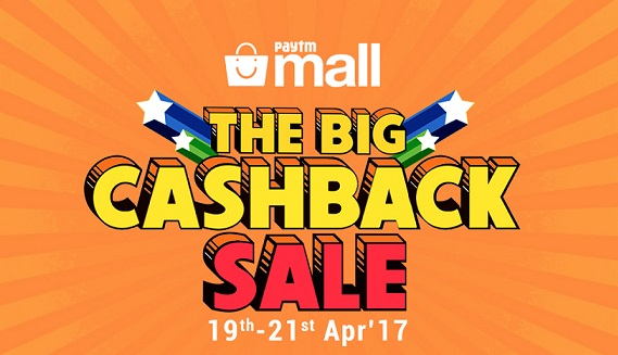 The Big Cashback Sale