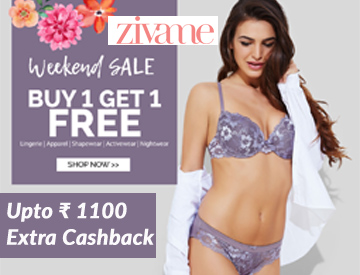 Weekend Sale: Buy 1 Get 1 Free on Zivame