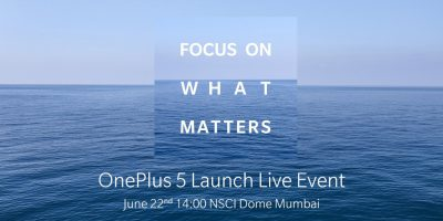 One Plus 5 Launch