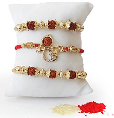 Rudraksha Rakhi online for brothers