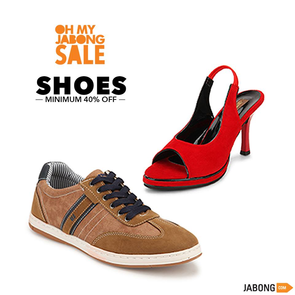 Jabong offers on Footwear