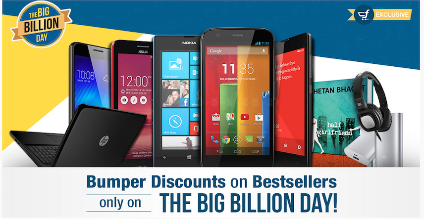 Big billion day top deals