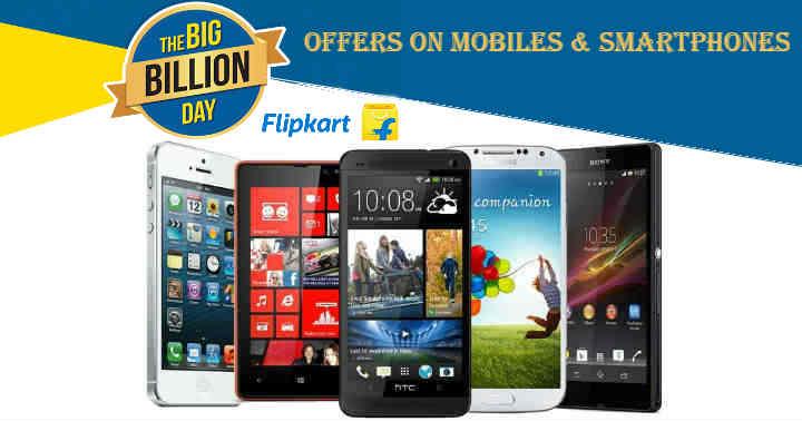 Flipkart Big Billion Day offers on tablets & Mobile