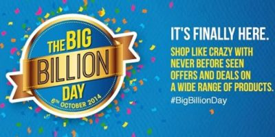 Flipkart big billion day sale on electronics