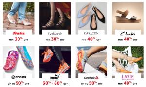 Amazon Great India Sale Offers on Women's Footwear