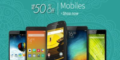 amazon great indian sale on electronics and mobiles