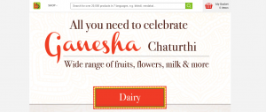 BigBasket offers on Ganesh Chaturthi