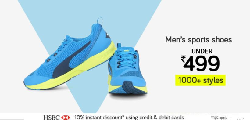 Snapdeal Offers on Footwear