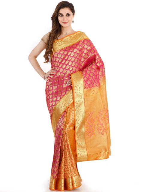 Trendy Traditional Silk Saree
