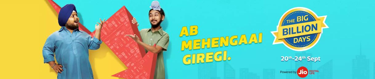 Big Billion Day Offers Ab Mehengaai Giregi