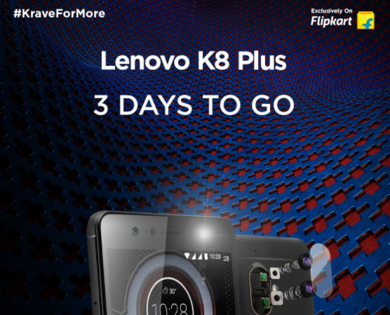 Lenovo K8 Plus India