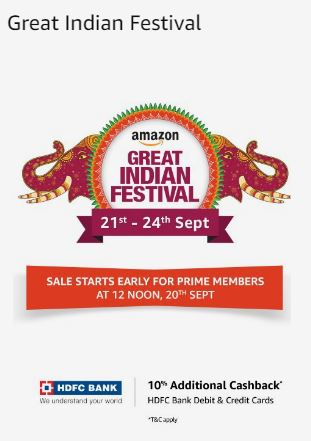 Amazon great indian festival sale on Women Fashion