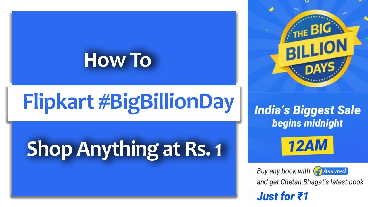 Tricke to Save More on Flipkart Big Billion Days Deals