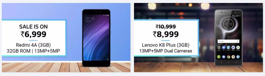 Flipkart Big Billion Day best offers on Mobile