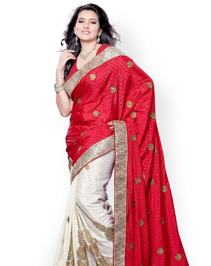 Saree collection on Myntra
