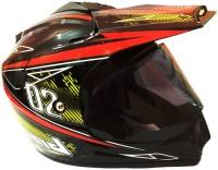 O2 Full Face ISI Motorbike Helmet