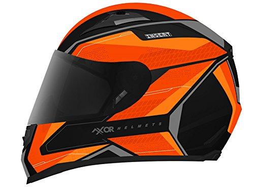 Axor Full Face Designer Helmet-INSERT-KTM ORANGE-( Large - 58 Cms )