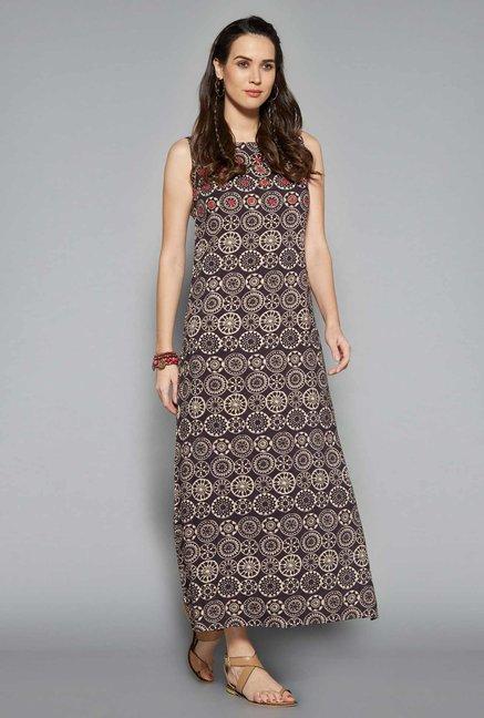 Bombay Paisley by Westside Grey Dress