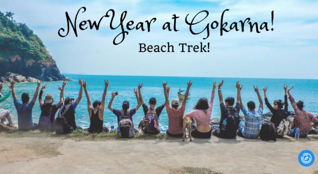Gokarna Beach Trek New Year 2018