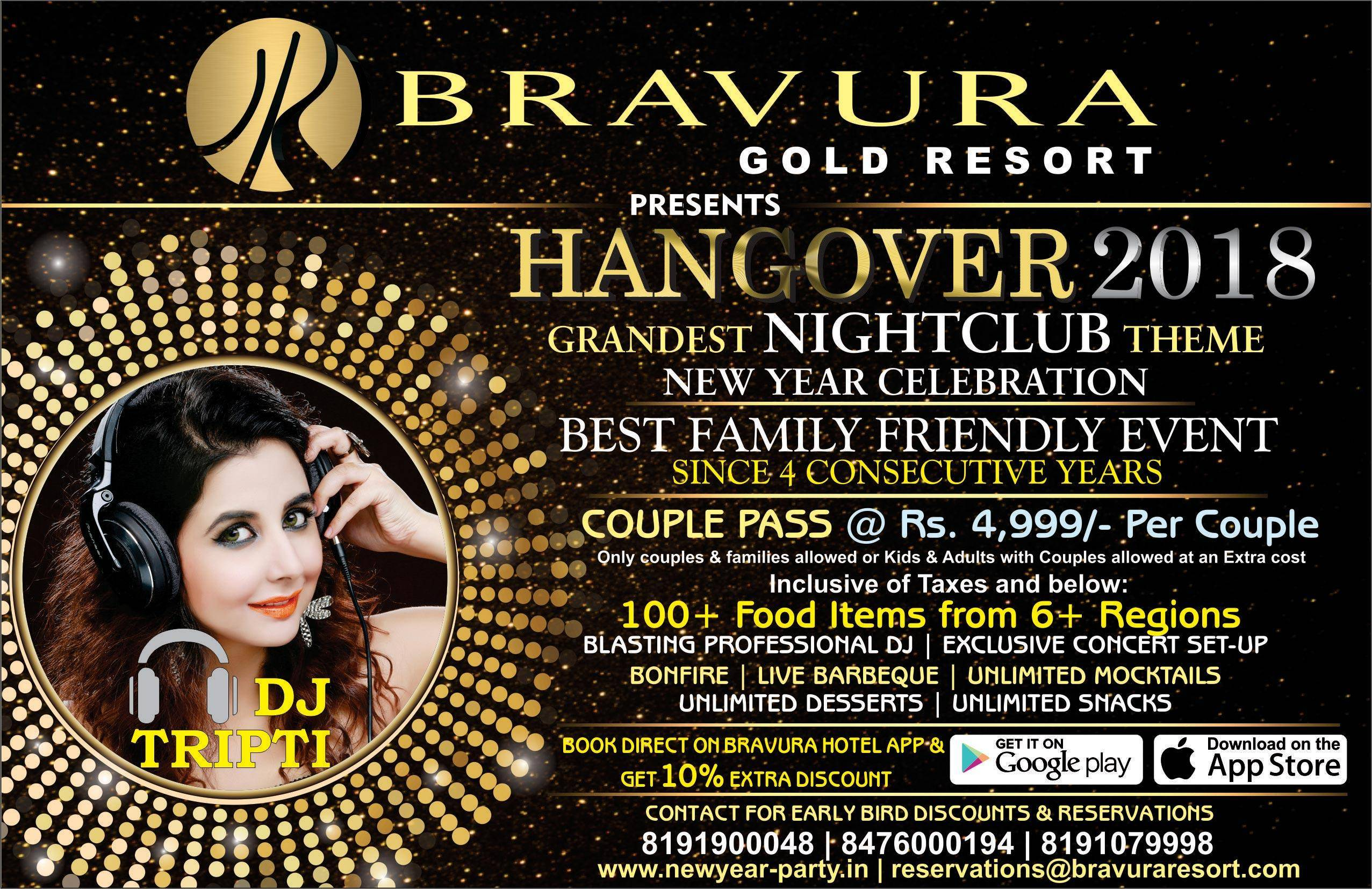 Grandest New Year Celebration  - With DJ Tripti