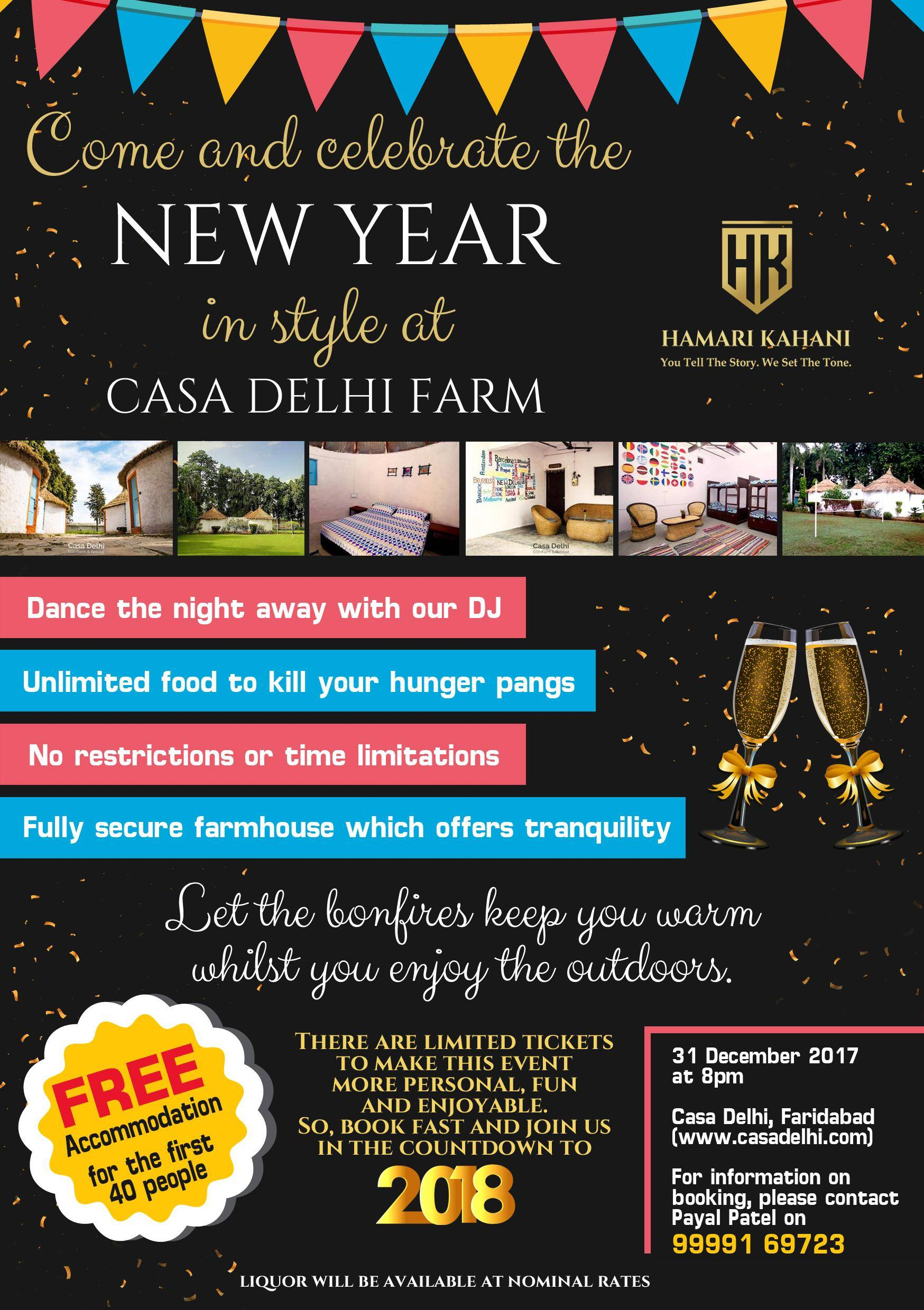 New Year's Eve Farmhouse Party